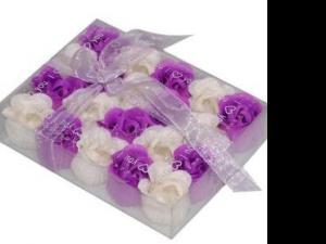 厂家供应节日礼品纸香皂花情侣礼品